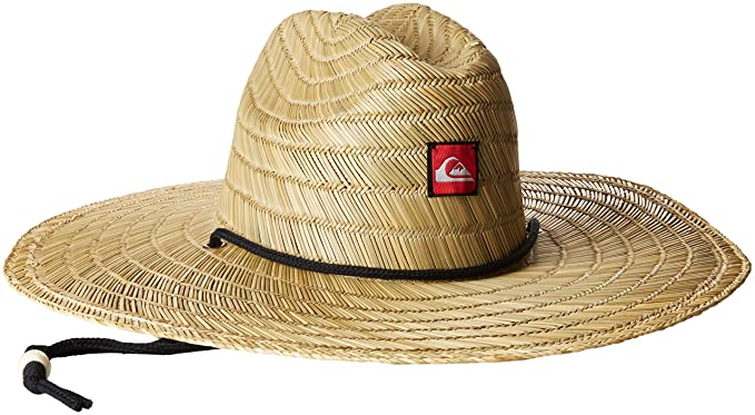 8988b87b3 Amazon.com: Quiksilver Men's Pierside Straw Sun Hat: Clothing