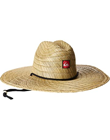 5765b9d6 Quiksilver Men's Pierside Straw Sun Hat