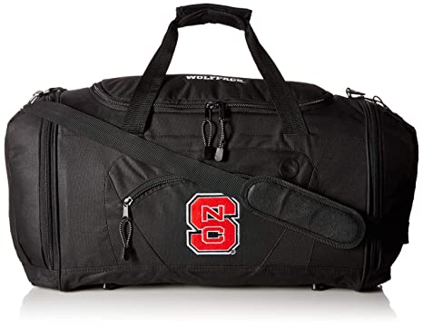 2b03fd629b52 Image Unavailable. Image not available for. Color  NCAA North Carolina State  Wolfpack Roadblock Duffle Bag
