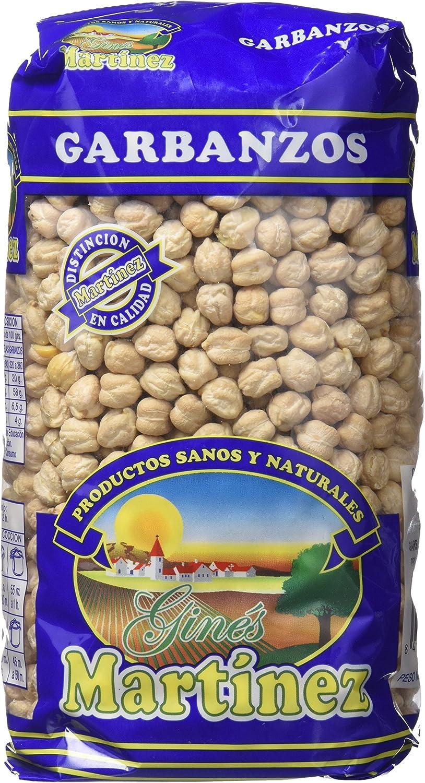 Ginés Martínez Garbanzos Castellanos - 1 kg: Amazon.es: Alimentación y bebidas