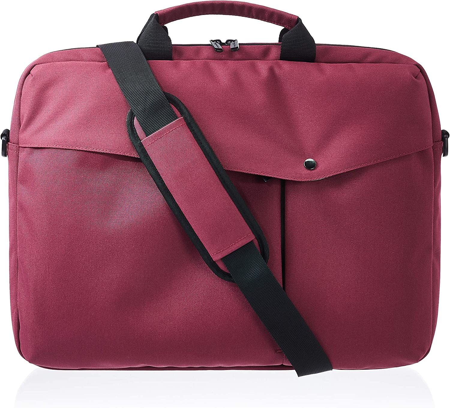 AmazonBasics Business Laptop Case - 17-Inch, Maroon