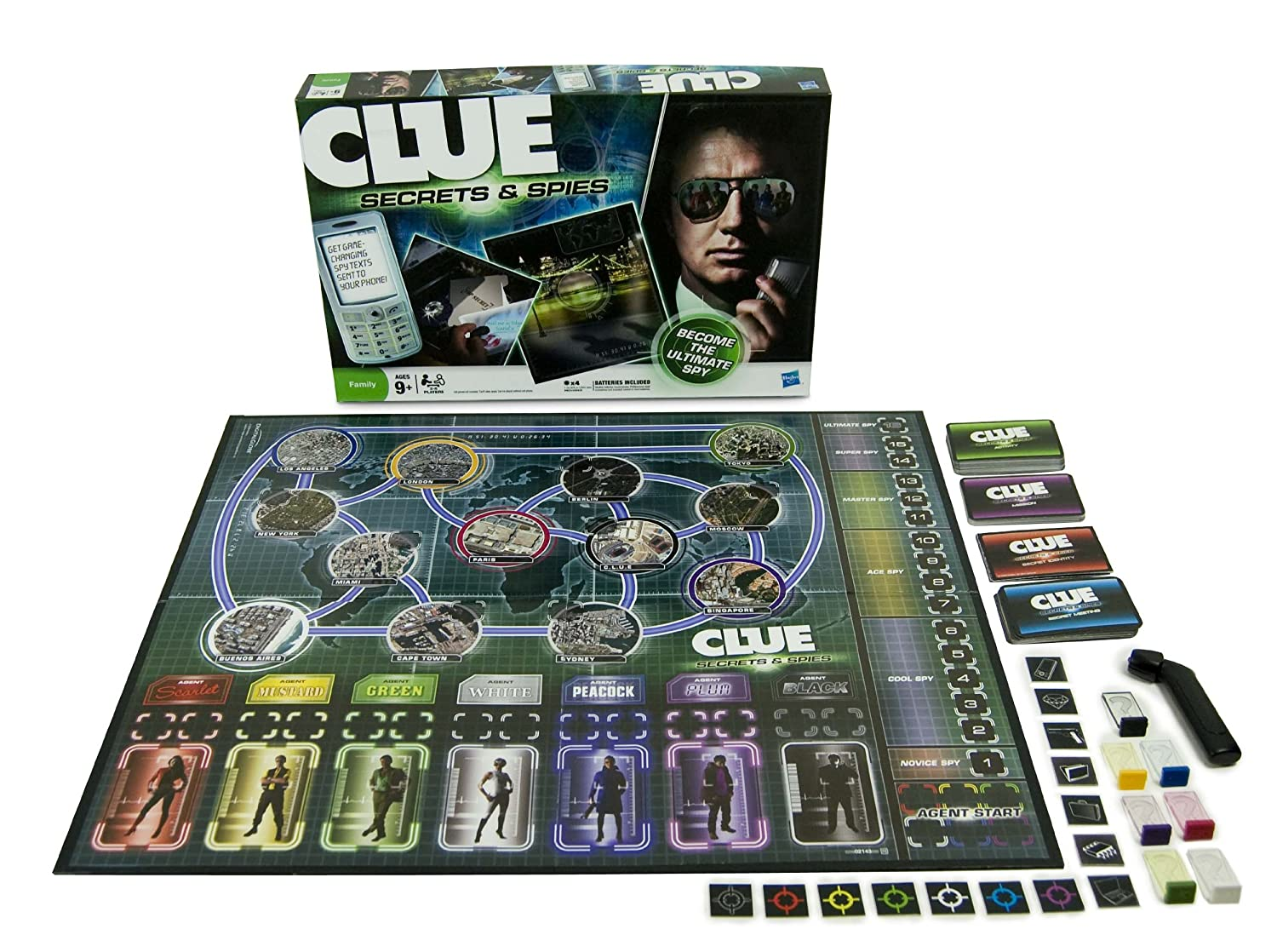 Amazon Clue Secrets And Spies Toys Games