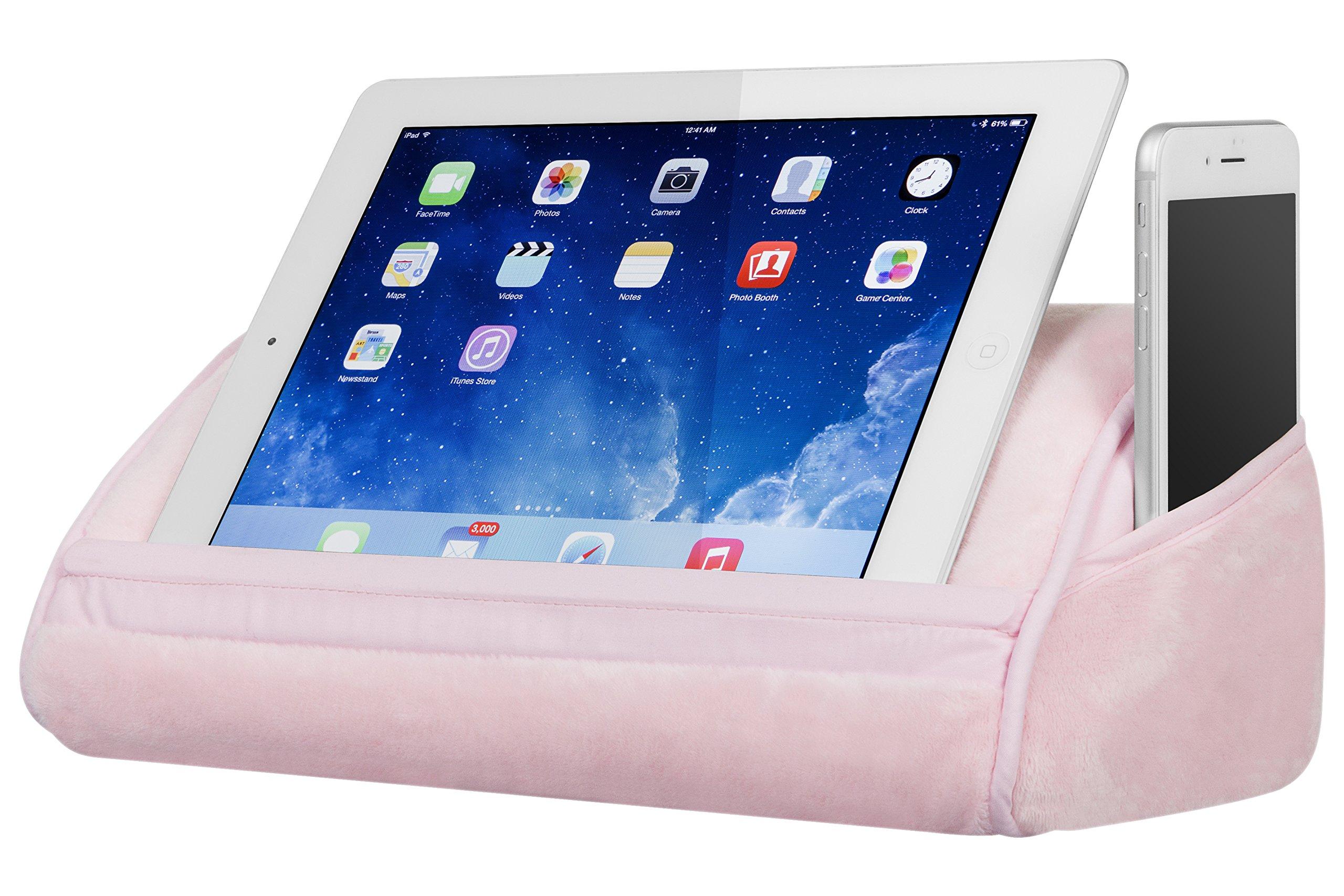 LapGear Original Tablet Pillow - Rose Quartz (Fits up to 10.5'' Tablet) by Lap Desk