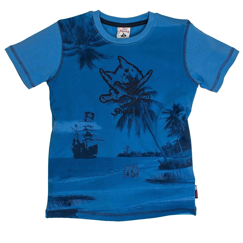 Capt'n Sharky by Salt & Pepper Jungen T-Shirt S Uni Print 73512162