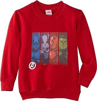 Marvel Avengers Assemble Team Strips Sudadera para Niños