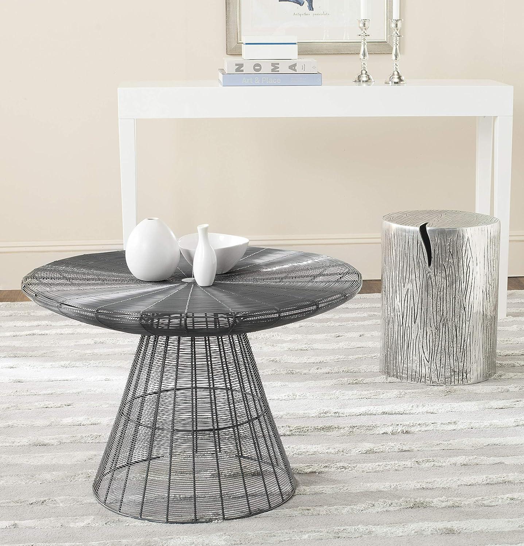 Safavieh Home Collection Reginald Grey Wire Coffee Table