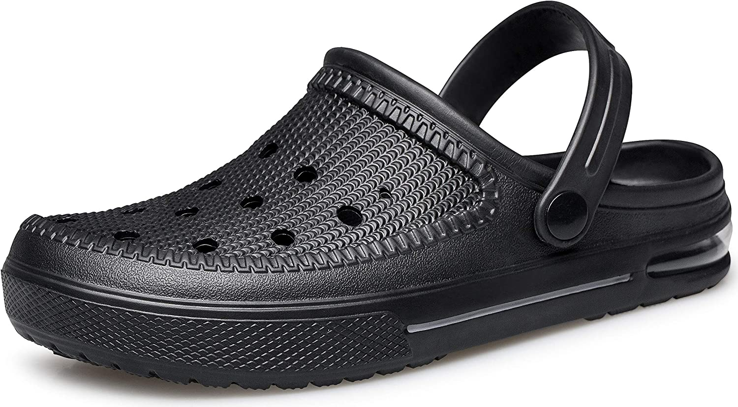 YHOON Unisex Garden Clogs Shoes | Water Shoes | Comfortable Slip on Shoes Air Cushion Slippers