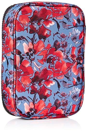 b93b596cc Estojo Kipling 100 pen case Festive Floral: Amazon.com.br: Papelaria e  Escritório