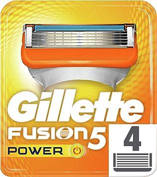 Gillette Fusion Power - Recambios de maquinilla de afeitar para ...
