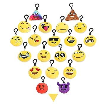 Mini llavero Emoji Party Favors almohadas de Fingon ...