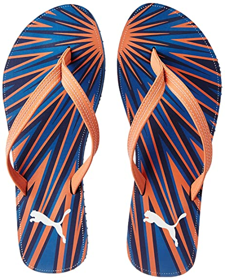 Express Gu Wn S Idp Blue Flip-Flops