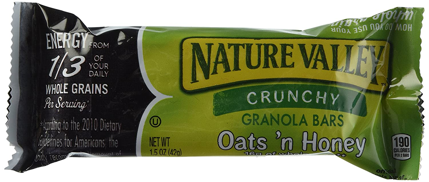 Nature's Valley Oats N' Huney Crunchy Granola Bars, 73.01 Ounce