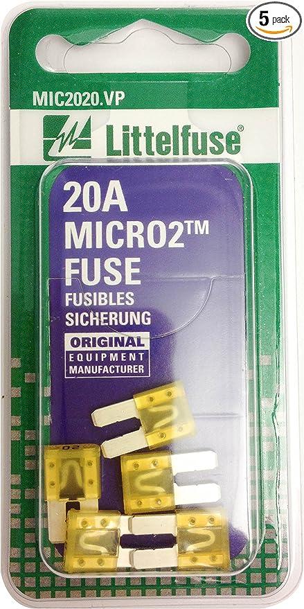 **NEW** Littlefuse 40 amp MAXI Blade Fuse 32V pkg 2