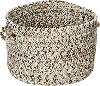 product image for Colonial Mills Corsica Utility Basket, 18 by 12-Inch, Weathered Brown