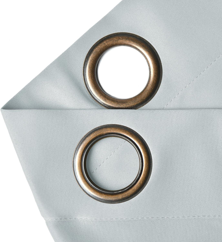 Cortinas con ojales de bronce envejecido para decoración de exteriores, para patio, porche delantero con varios colores y tamaños.: Amazon.es: Hogar