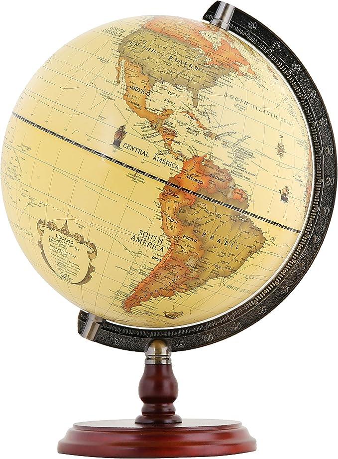 Decoración bola del mundo