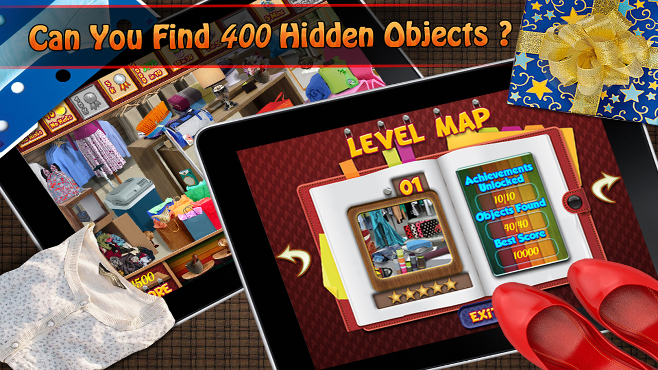 Free Hidden Object Game - Shopping Point - Find 400 new