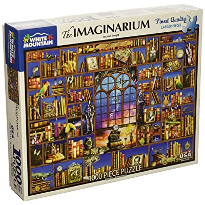 "White Mountain Puzzles 1371 Imaginarium-1000 Piece Jigsaw Puzzle, 24"" x 30"", Multicolor: Toys & Games"