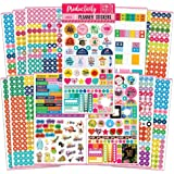 Mirida Planner Stickers – 1700 Productivity Mini Icons for Adults Calendar – Work, Daily to Do, Budget, Family, Holidays…
