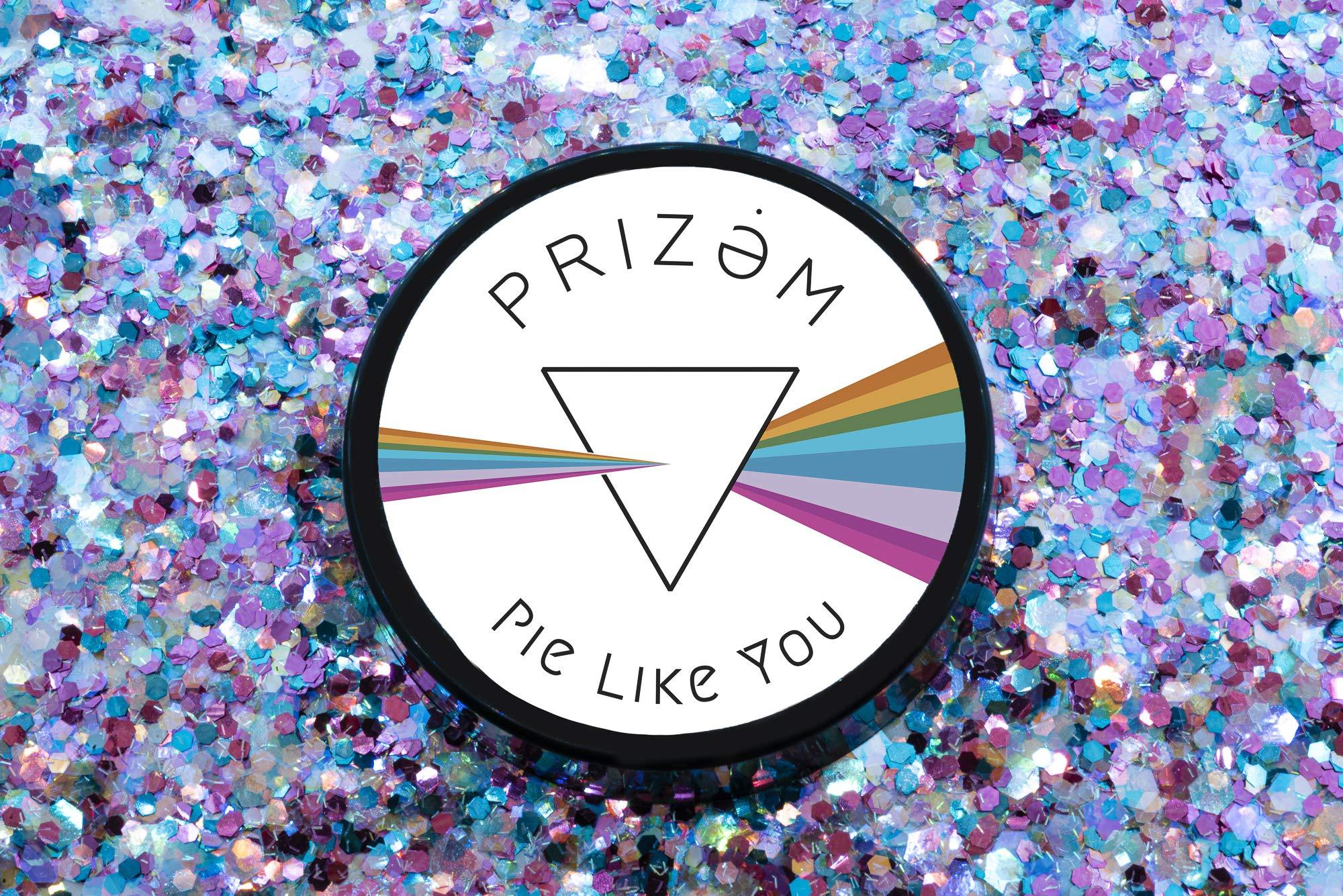 Prizem Pie Like You Biodegradable Glitter ▽60g▽ Festival Glitter , Chunky Glitter , Makeup Glitter , Face Glitter , Body Glitter , Glitter Makeup , Hair Glitter , Cosmetic Glitter , Nail Glitter by Prizem