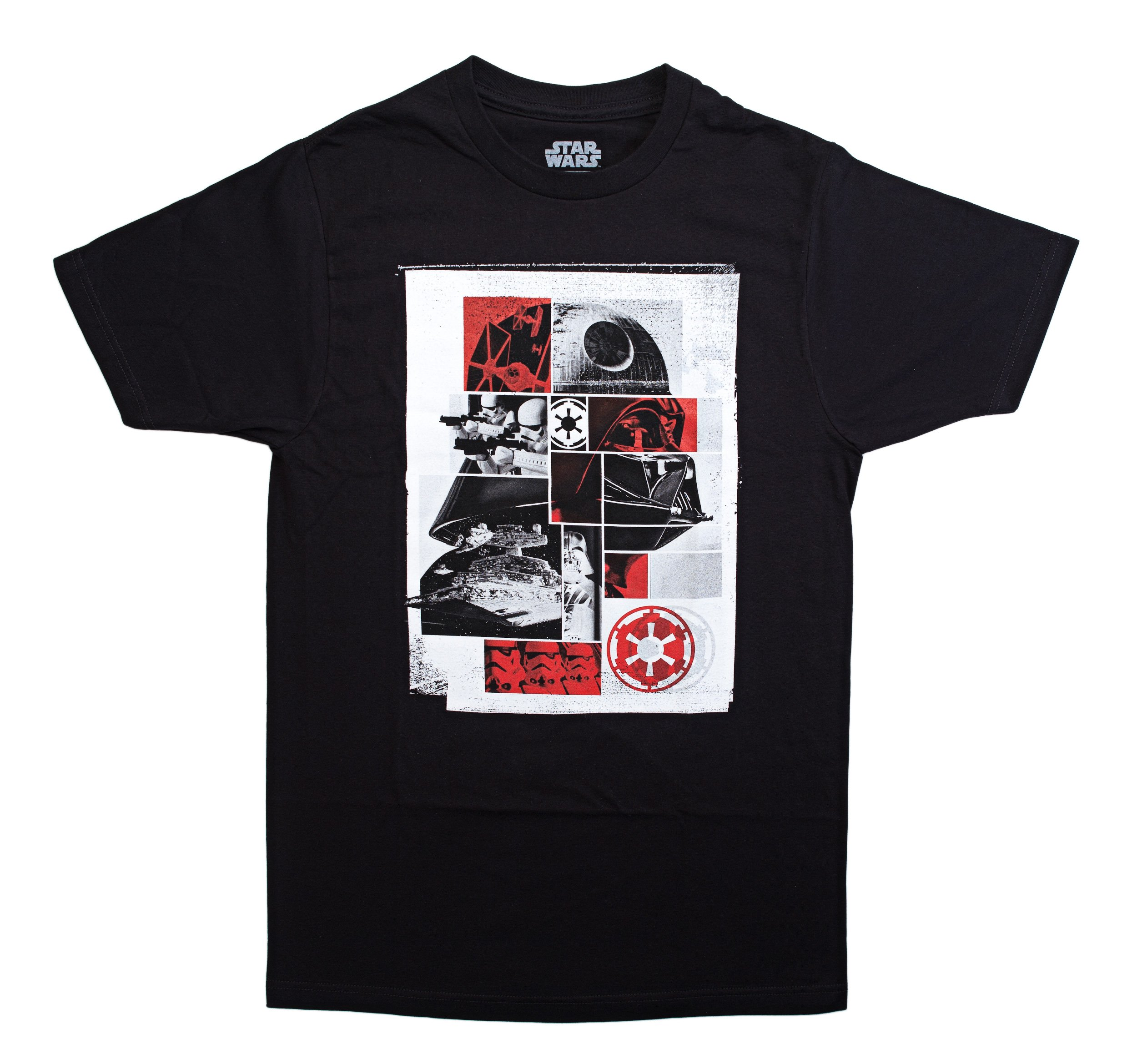 Star Wars Vader Grid Collage Graphic T-Shirt | 2XL