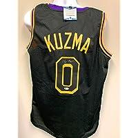 $99 » Kyle Kuzma Los Angeles Lakers Signed Autograph Custom Jersey Black Mamba B# Beckett Witnessed Certified
