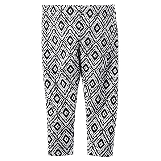 744463cbeb0920 Amazon.com: Carter's Girl Diamond Patterned Black & White Capri ...