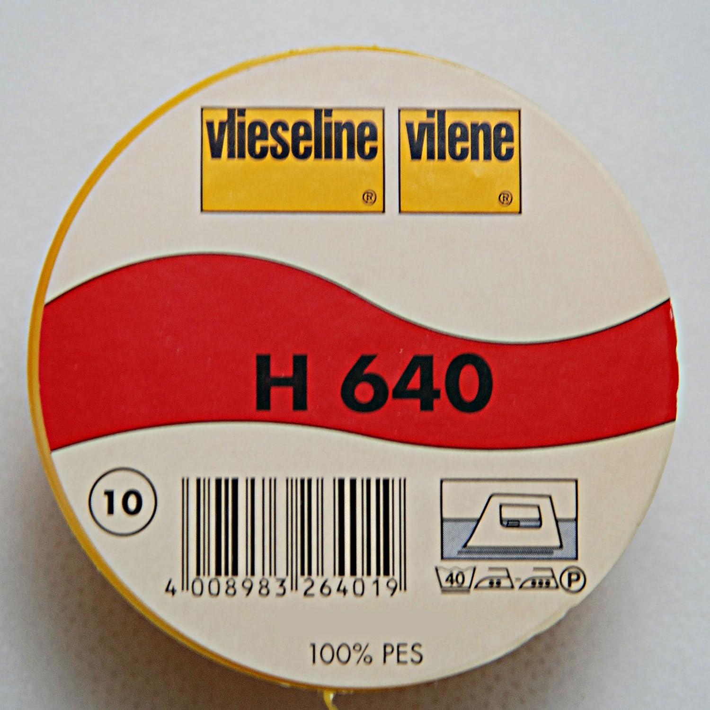 Vilene - Tessuto felpato termoadesivo applicabile con il ferro da stiro, dimensioni: 15 x 90 cm