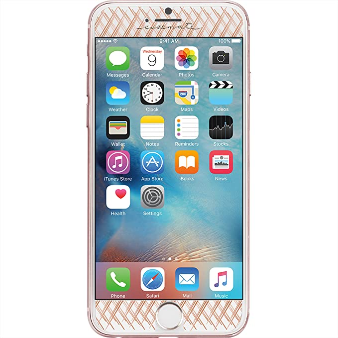 official photos 6c8ab 17384 iPhone - 8 | 7 | 6 - Glass Screen Protector -CASE-MATE - Gilded Glass -  Apple iPhone - Rose Gold