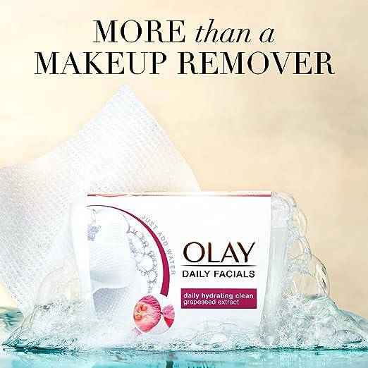 Toallitas de limpieza diaria Olay Daily Facials, 4 en 1 con activación de agua, el paquete de 66 puede variar: Amazon.es: Industria, empresas y ciencia