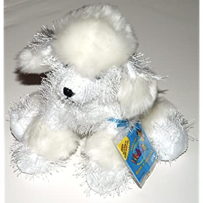 "HM014 - 8.5"" WHITE POODLE Webkinz New Code Sealed With Tag: Toys & Games"
