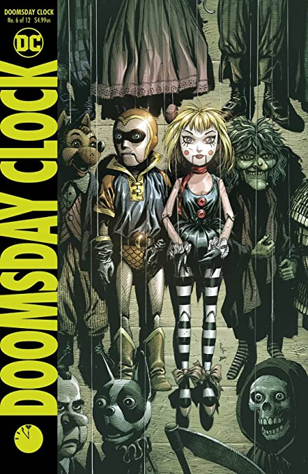 amazon com doomsday clock 6 of 12 dc 2018 everything else