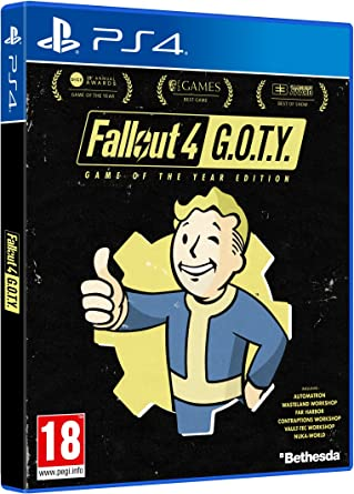 Fallout 4 - Game of the Year Edition - [At-Pegi] - PlayStation 4 [Importación alemana]: Amazon.es: Videojuegos