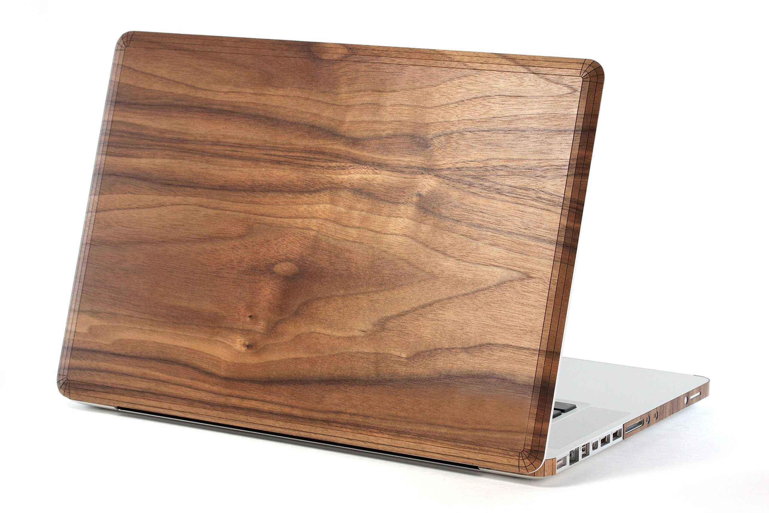 TOAST Real Wood Walnut Cover for MacBook Pro 15-Inch Non-Retina Version (MBPR-15N-PLA-01-COM) by Toast (Image #1)