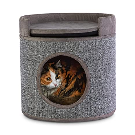 Amazon.com: You & Me Cozy Cottage - Condo de gato con perca ...