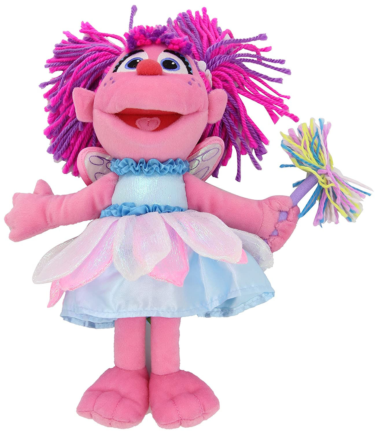amazon com gund sesame street abby cadabby plush toy toys u0026 games