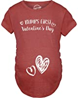 crazy dog t shirts bumps first valentines day maternity shirt cute adorable baby pregnancy tee