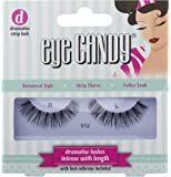 Eye Candy Strip Lashes 012 Volumise 50's Look Natural False Lashes