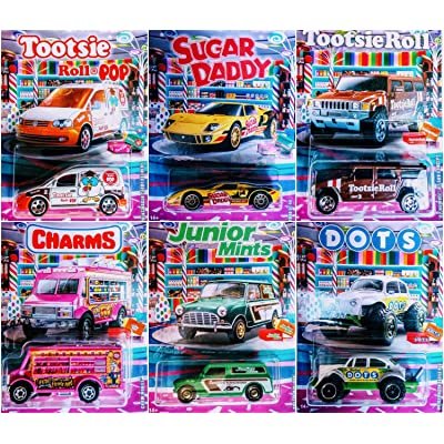 Matchbox 2020 Candy Theme Full 6 Car Set: Toys & Games