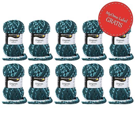 Myoma Gunstige Wolle 10x Schachenmayr Wolle Argentina Wolle Set