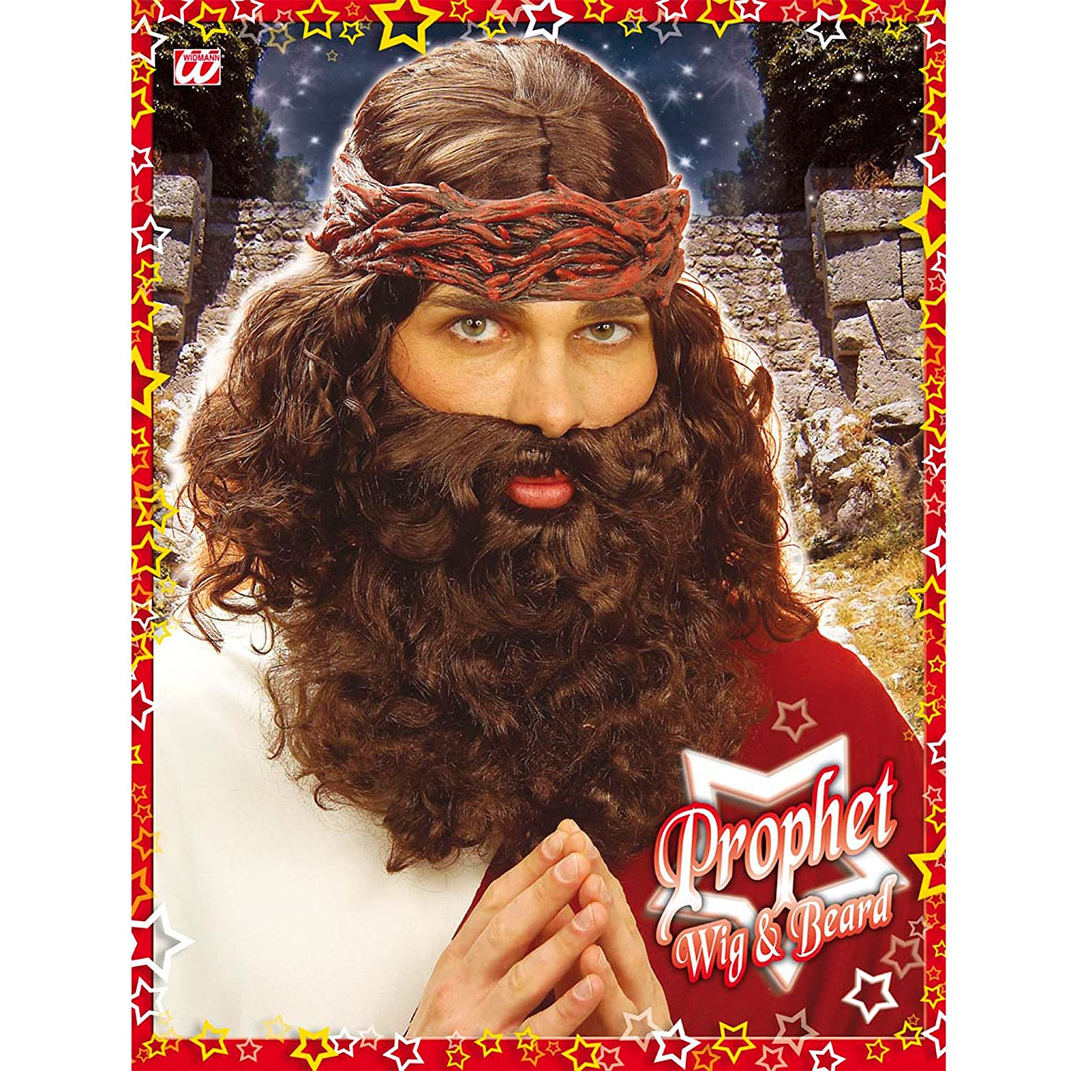 Amazon.com: Jesus & Beard Set Brown Wig For Fancy Dress Costumes & Outfits Accessory: Home Improvement