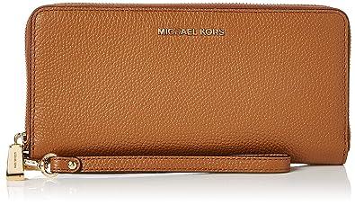 e2e8c8cd2fd8e Michael Kors Damen Mercer Leather Continental Wristlet Geldbörse ...