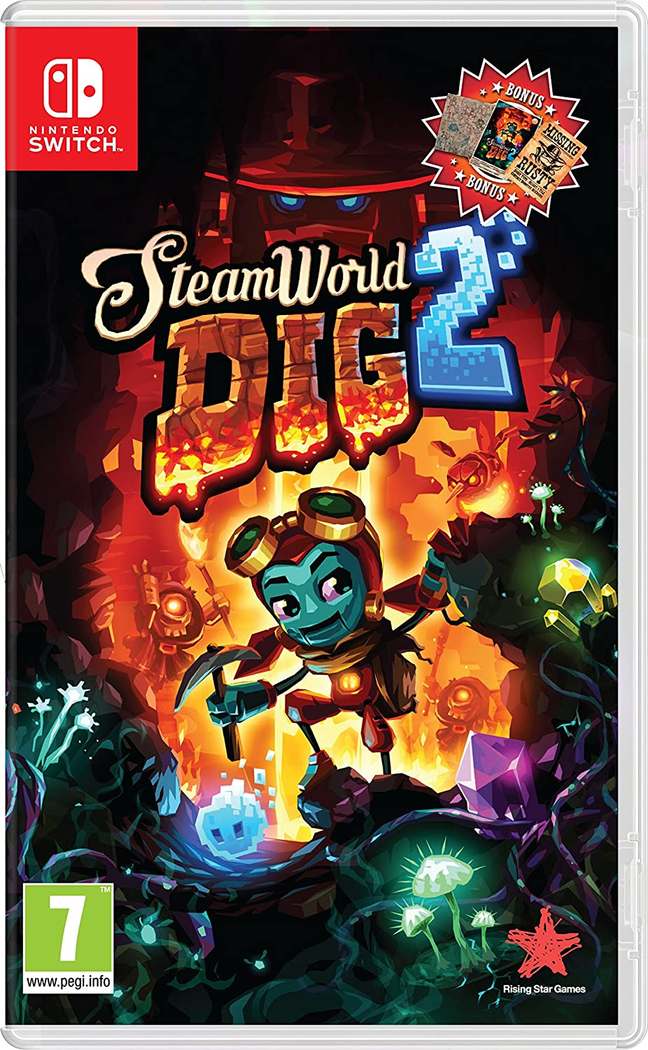Steam World Dig 2 - Nintendo Switch [Importación inglesa]: Amazon ...