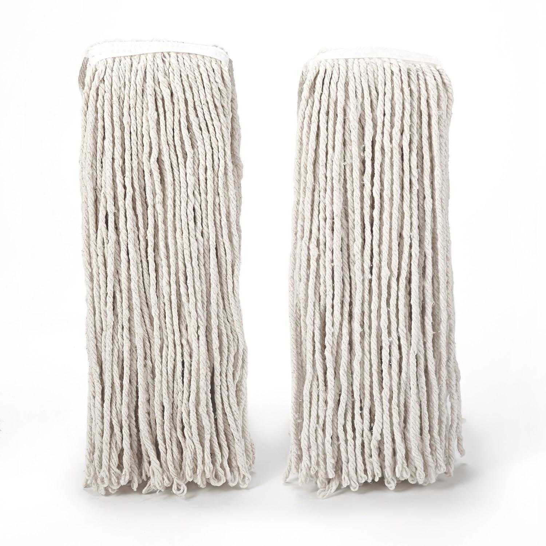 O-Cedar Heavy Duty Looped-End String Mop Refill (2 Pack)