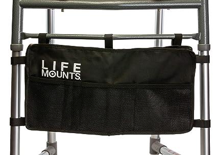 Life Mounts - Marco para andador (ajuste universal), color negro ...