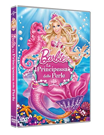 Amazoncom Barbie La Principessa Delle Perle Dvd Italian Import
