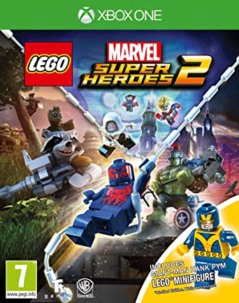 LEGO Marvel Super Heroes 2 Minifigure Edition (Xbox One): Amazon.co ...