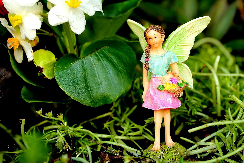 Pretmanns Fairy Garden Accessories /Ã/¢/â/'/¬/â/€/œ House Kit Miniature Fairies /& Welcome Sign /Ã/¢/â/'/¬/â/€/œ Fairy House is 6/Ã/¢/â/'/¬/High /& Door C