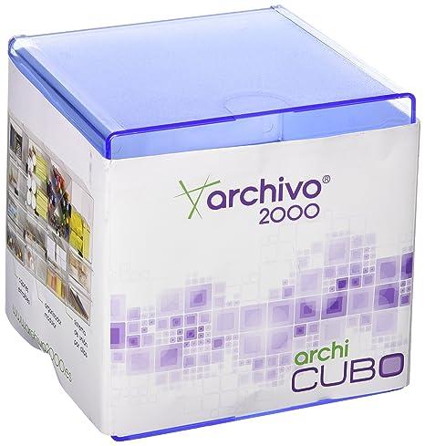 Amazon com : File 2000 6705 AZTP - Cube with Dividing Tray