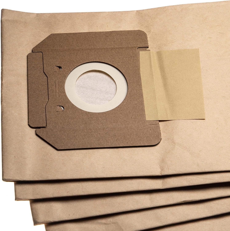 NT 611 Eco TEA aspirapolvere 75.9cm x 20.1cm vhbw 5 Sacchetti Carta compatibile con K/ärcher NT 611 Eco M NT 611 Eco M A NT 611 Eco TE